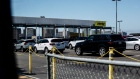 Vehicles sit parked at a Hertz Global Holdings Inc. rental location at Los Angeles International Airport (LAX) in Los Angeles, California, U.S., on Friday, Aug. 2, 2019. Hertz is scheduled to release earnings figures on August 6.