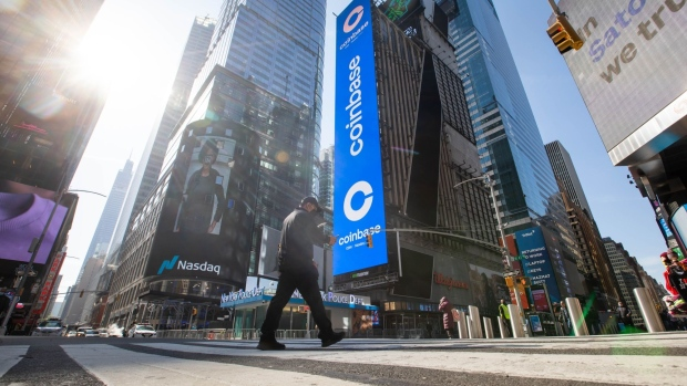 Coinbase Shares Fall After Quarterly Results Are Released -  BNN Bloomberg