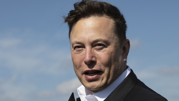 Elon Musk Photographer: Maja Hitij/Getty Images