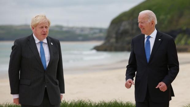 Biden on China, Boris' Bad Covid News, Fed Dot Plot: Eco Day