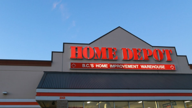 Home Depot bid up ahead of earnings