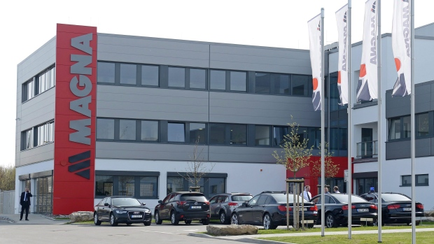 A Magna International plant in Meerane, eastern Germany, pictured in 2013.