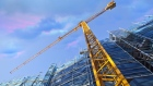 Condo construction crane development real estate towers condos condominiums