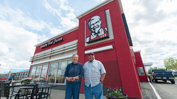 Kentucky Fried Chicken in Weyburn, Sask.