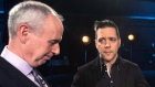 George Stroumboulopoulos (right) and Ron MacLean