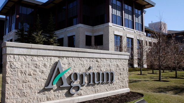 Agrium's headquarters building in Calgary