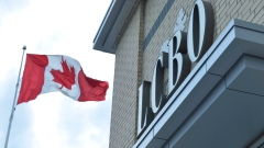 LCBO store in Bowmanville, Ontario