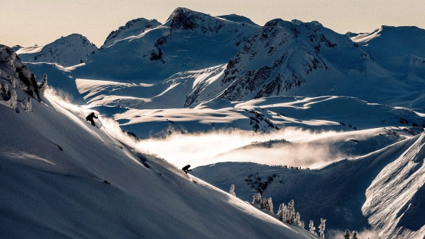 Skiing at Whistler Blackcomb Resort