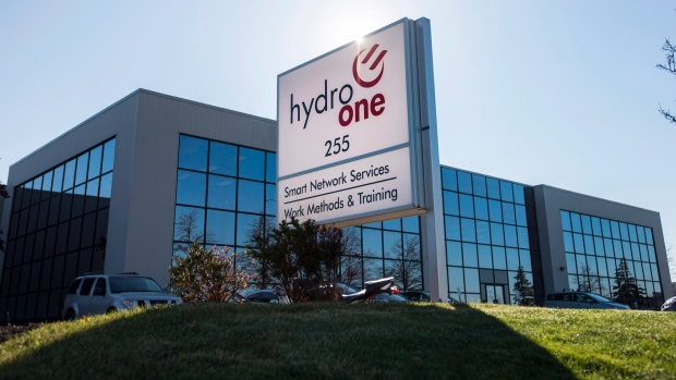 A Hydro One office in Mississauga, Ont.