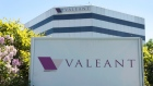 Valeant Pharmaceutical's head office in Laval, Que.