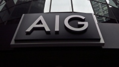 AIG's headquarters in Manhattan's financial district