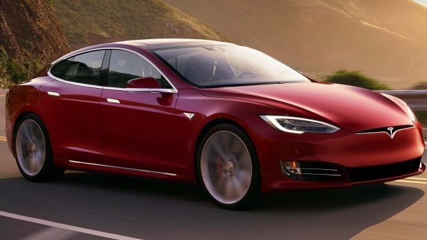 Tesla Model S P100D with Ludicrous mode