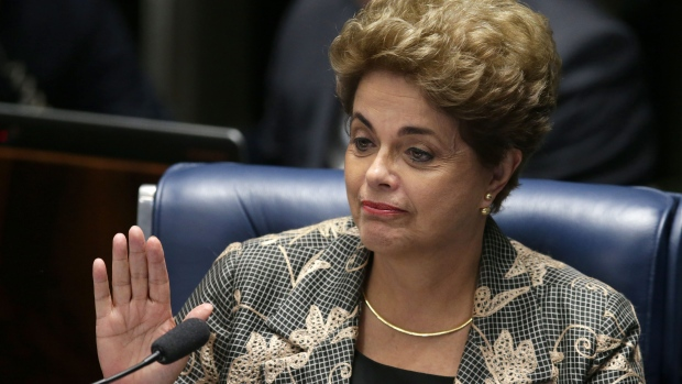 Brazil's suspended President Dilma Rouseff has been impeached, the Brazilian press reports