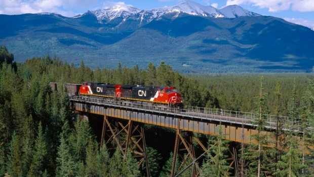 CN Rail Canadian National Railway