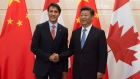 Xi Jinping and Justin Trudeau