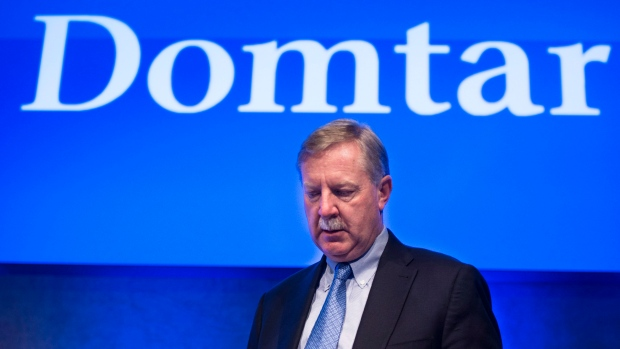 Domtar president and CEO John Williams.