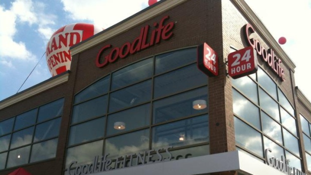 Goodlife Fitness club