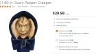 Home Depot's Scary Peeper Creeper Halloween decoration, which was pulled from Canadian shelves