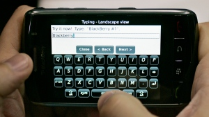 BlackBerry CEO says iconic QWERTY keyboard will live on even