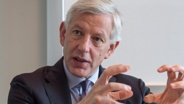 Dominic Barton, chairman of an advisory committee to federal Finance Minister Bill Morneau