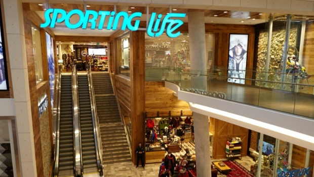 Sporting Life at Sherway Gardens mall in Toronto