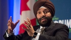 Federal Innovation Minister Navdeep Bains