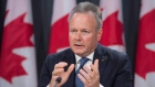 Bank of Canada Governor Stephen Poloz speaks following an interest rate announcement in Ottawa
