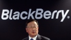 BlackBerry executive chairman and CEO John Chen