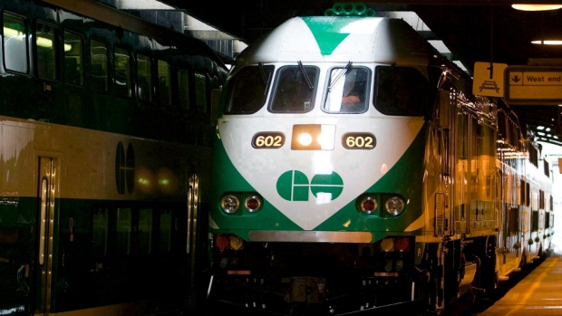 Metrolinx is the Ontario government agency that runs GO Transit. Go Train