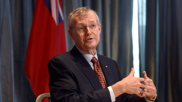 The Ontario Liberal government's privatization czar and former TD Bank CEO Ed Clark