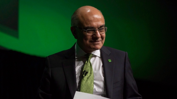Bharat Masrani, president and CEO of TD Bank