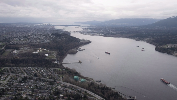 Trans Mountain pipeline work stopped before it starts in British Columbia