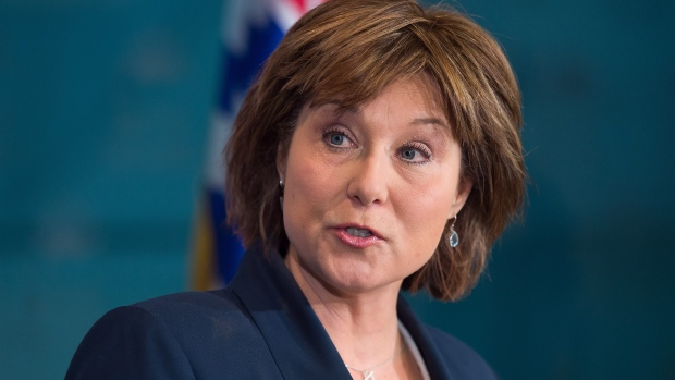 B.C. Premier Christy Clark responds to Ottawa's approval of the Trans Mountain pipeline expansion