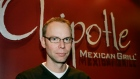 Chipotle Mexican Grill founder and CEO Steve Ells poses for a photograph at company headquarters