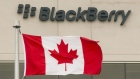 BlackBerry's offices in Waterloo, Ontario