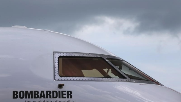 Bombardier aircraft