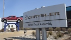 A Chrysler Warren Truck Assembly sign is seen in front of a Fiat Chrysler Automobiles plant.