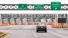 The United States border crossing is shown Wednesday, December 7, 2011 in Lacolle, Que.