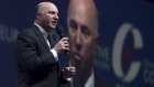 Kevin O'Leary speaks during the Conservative Party of Canada convention in Vancouver, May 27, 2016.