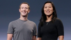 Facebook founder Mark Zuckerberg and his wife, Priscilla Chan