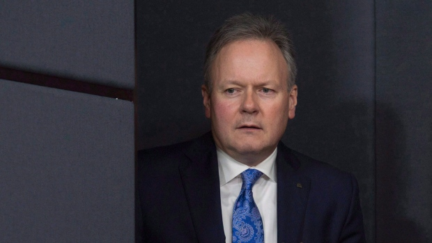 Bank of Canada Governor Stephen Poloz speaks during a news conference in Ottawa, Jan. 18, 2017.