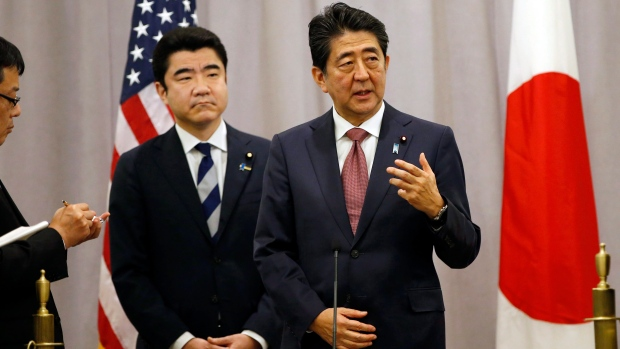 The Week Ahead: Trump to meet with Japan PM, Airbnb speech