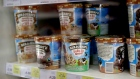 Containers of Ben & Jerry's, an ice cream brand owned by the Anglo-Dutch multinational Unilever