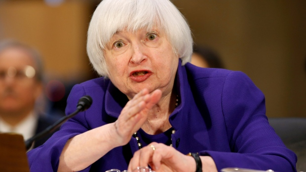 Federal Reserve Chair Janet Yellen testifies on Capitol Hill Feb.14 2017