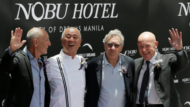 Robert DeNiro and his Nobu partners open a new hotel in Pasay city, south of Manila, Philippines