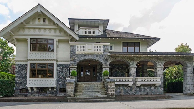 One of the priciest properties in Canada, located on 1238 Tecumseh Avenue, Vancouver, B.C.