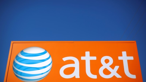 An AT&T sign is seen outside a branch in Rolling Meadows article image