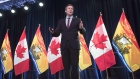 New Brunswick Premier Brian Gallant delivers the State of the Province address in Fredericton