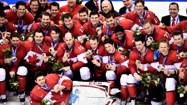 Team Canada wins hockey gold at the 2014 Sochi Winter Olympics in Sochi, Russia