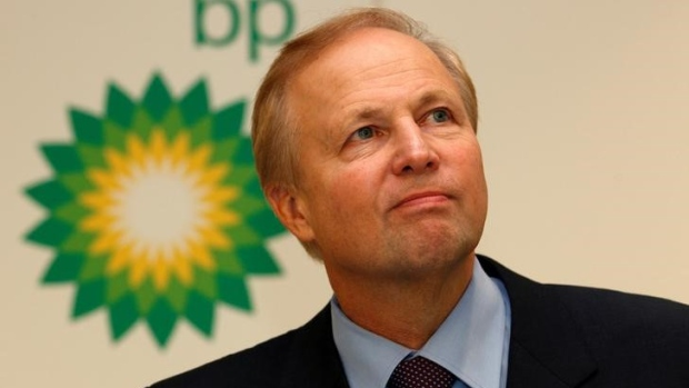 BP's Chief Executive Bob Dudley speaks to the media in 2011